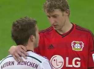 Alemão: Veja lances de B. Leverkusen 2 x 0 B. de Munique