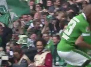Veja lances de Werder Bremen 1 x 0 E. Frankfurt pelo Alemão