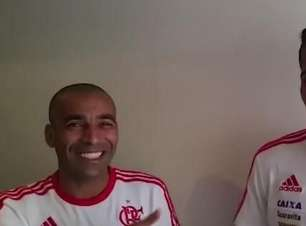 Sheik e Guerrero convocam torcida para pegar Corinthians