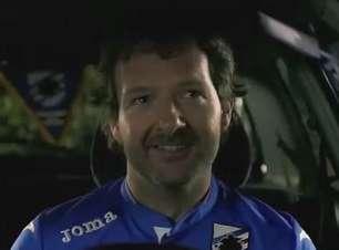 """Camiseta da Sampdoria """"canta"""" para incentivar torcedores"""