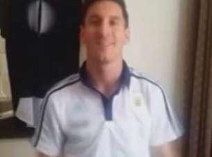 Messi participa de campanha brasileira por doação de órgãos