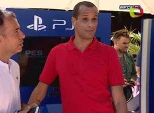 Rivaldo é contratado pelo time de veteranos do Barcelona
