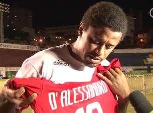 Atacante do Novo Hamburgo promete enquadrar camisa de D'Alessandro