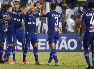 Cruzeiro vence o Santos na Vila Belmiro e chega ao topo da tabela