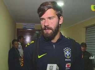 Alisson elogia atuação segura da Seleção na altitude