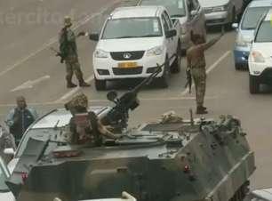 Exército assume controle no Zimbábue e diz que Mugabe está 'seguro'