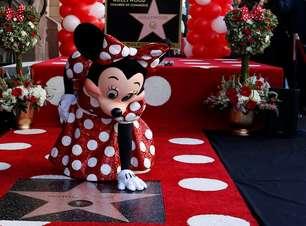 Minnie é homenageada por Hollywood após 90 anos de espera