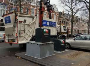 Sistema inteligente otimiza coleta de lixo na Holanda