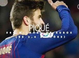 Saiba quanto custa para tirar os craques do Barcelona