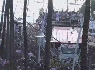 Pipoca do Saulo agita foliões em Salvador