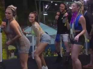 Ju Paiva dá aula de dança em pleno Carnaval de Salvador