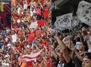 Flamengo lidera ranking de sócios-torcedores; veja o top-20