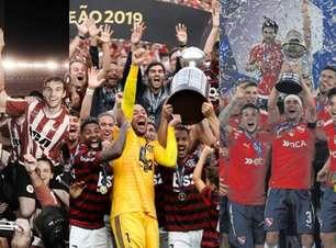 Veja o ranking atualizado dos campeões da Libertadores
