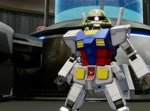Construindo seu próprio robô em New Gundam Breaker