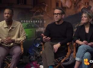 Ryan Reynolds, Mélanie Laurent falam de Esquadrão 6