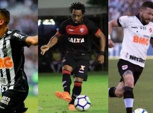 Os jogadores brasileiros que estão livres no mercado