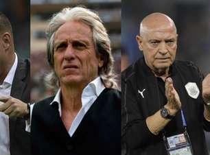 Os técnicos estrangeiros que dirigiram os principais clubes brasileiros na década
