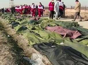 Avião explode logo após decolar no Irã e mata 176 pessoas