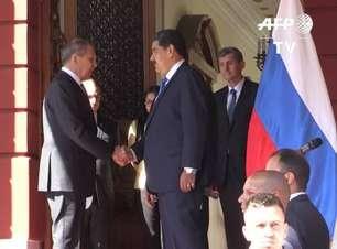 Chanceler russo condena sanções dos EUA contra Venezuela