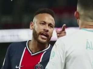 Neymar diz que sofreu racismo em partida contra o Marselha