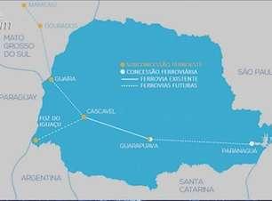 Reunião em Cascavel discute novo projeto da Ferroeste no Paraná