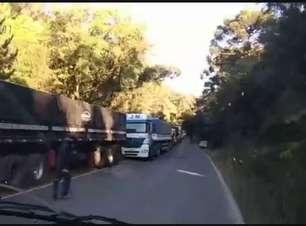 Vídeo mostra local do acidente fatal em Ponta Grossa