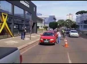 Maio Amarelo: Conscientização aos condutores é realizada em Cascavel
