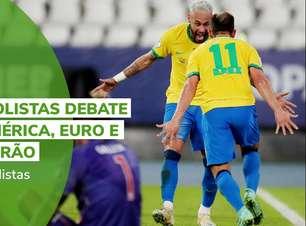 Terrabolistas debate Copa América, Euro e Brasileirão