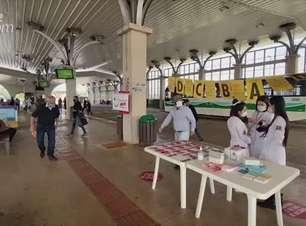 Ações de prevenções contra hepatites e câncer são realizadas no Terminal Oeste