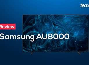 Análise da TV 4K Samsung AU8000