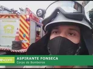 Corpo de Bombeiros fala sobre queda de homem em obra no Centro de Cascavel