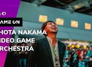 Participação do Shota Nakama e apresentação da Video Game Orchestra