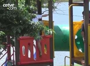 Dia das crianças com movimentação no Lago Municipal e no zoológico de Cascavel