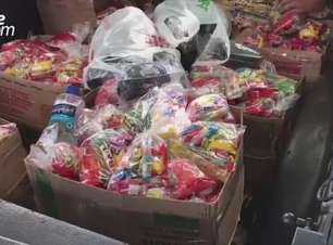 Motociclistas entregam mais de 1500 doces para crianças em Cascavel