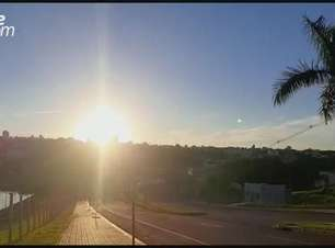 Quarta-feira será de sol e máxima de 29°C em Cascavel