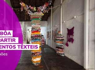 Lidia Lisbôa: arte a partir de elementos têxteis