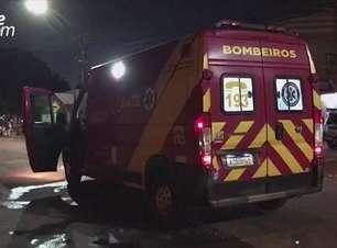 Motociclista fica ferido em acidente de trânsito no Bairro Esmeralda