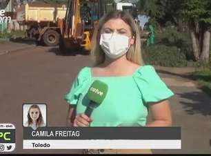 Prefeitura de Toledo realiza mutirão para limpeza após vendaval