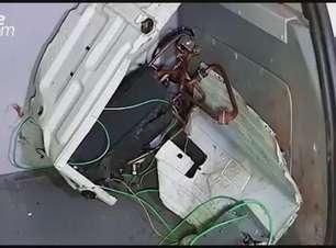 Homem é detido com ar condicionado furtado em Santa Tereza do Oeste