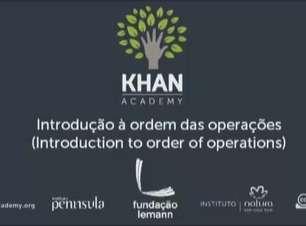 Introdução à ordem das operações