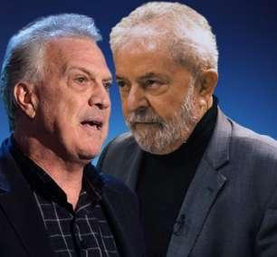 "Atacado, Bial explica ironia a Lula: ""Mentiu a meu respeito"""