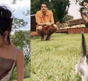 """Bruna Marquezine adota gata com Enzo: """"Coisa mais linda"""""""