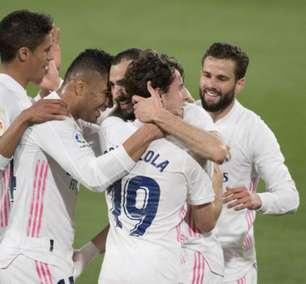 Com três gols no primeiro tempo, Real Madrid vence o Cádiz