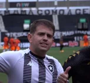 Preparador físico fala em criar 'grupo vencedor' no Botafogo: 'Não é só jogar futebol, precisa de algo a mais'