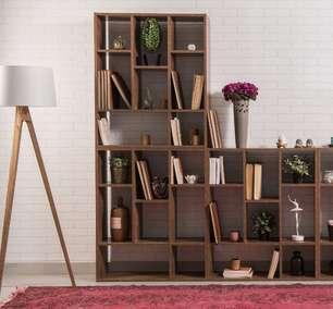 Confira 8 estantes de diferentes estilos para você se inspirar e dar um 'up' na sua casa