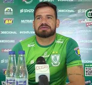 """AMÉRICA-MG: Cavichioli rechaça 'segredo' para vencer o Atlético, cita vontade e entrega e destaca: """"eles nos respeitam, sabem que aqui tem qualidade também"""""""