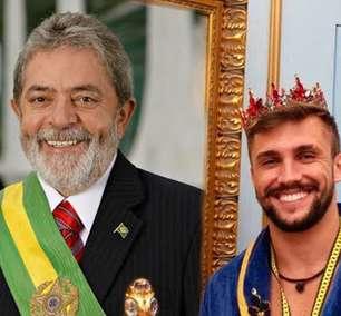 Arthur faz brincadeira sobre política na web; Lula responde