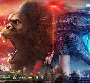 Sucesso no cinema, Godzilla e King Kong invadem os games
