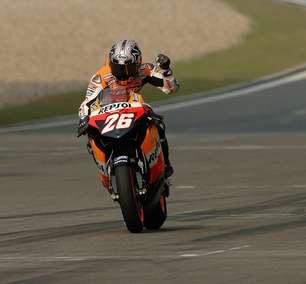 Na Garagem: Pedrosa usa força da Honda na China e vence na 4ª corrida na MotoGP