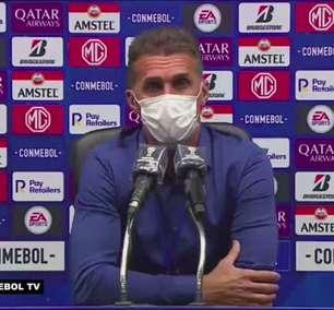 """CORINTHIANS: Mancini reconhece dor em goleada sofrida para o Peñarol, mas projeta: """"Que sirva para nos alavancar"""""""